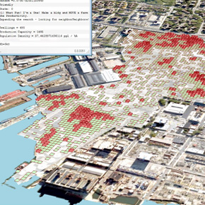 Settlement Simulation in the Brooklyn Navy Yard