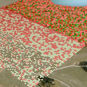 Settlement Simulation in Kungsängen, Stockholm Region